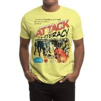Attack of Literacy! - mens-regular-tee - small view