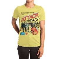 Attack of Literacy! - womens-extra-soft-tee - small view