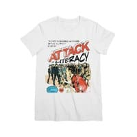 Attack of Literacy! - womens-premium-tee - small view