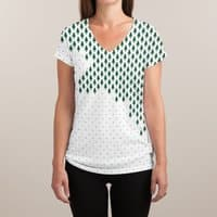 Deforestation - womens-sublimated-v-neck - small view