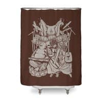 Spiritual Symphony Fin - shower-curtain - small view