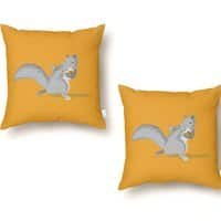 All-Conference Squirrel - throw-pillow - small view