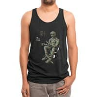 Self-Sufficient - mens-triblend-tank - small view