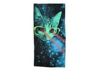 Mister Mittens' Big Adventure - beach-towel - small view