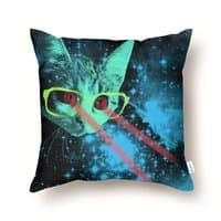 Mister Mittens' Big Adventure - throw-pillow - small view