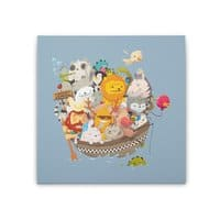 Noah Express - square-stretched-canvas - small view