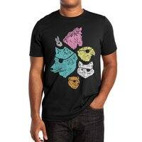 Animals with Eyepatches! Yes! - mens-extra-soft-tee - small view