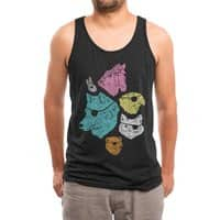 Animals with Eyepatches! Yes! - mens-triblend-tank - small view