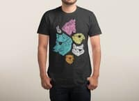 Animals with Eyepatches! Yes! - mens-triblend-tee - small view