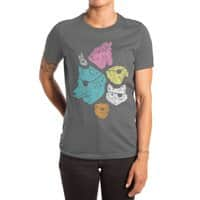 Animals with Eyepatches! Yes! - womens-extra-soft-tee - small view