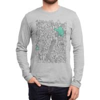 Foam Monster In Emotional Reunion With Severed Limb - mens-long-sleeve-tee - small view
