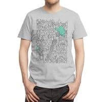 Foam Monster In Emotional Reunion With Severed Limb - mens-regular-tee - small view