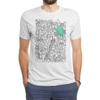 Foam Monster In Emotional Reunion With Severed Limb - mens-triblend-tee - small view