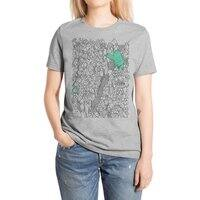 Foam Monster In Emotional Reunion With Severed Limb - womens-extra-soft-tee - small view