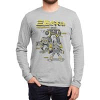 Three Little Pigs: Mechanized Assault - mens-long-sleeve-tee - small view