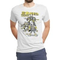 Three Little Pigs: Mechanized Assault - mens-triblend-tee - small view