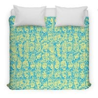 Braaains! - duvet-cover - small view