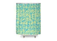 Braaains! - shower-curtain - small view