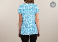 Braaains! - womens-sublimated-v-neck - small view