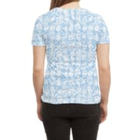 Braaains! - womens-sublimated-triblend-tee - small view