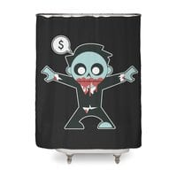 Corporate Zombie - shower-curtain - small view