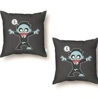 Corporate Zombie - throw-pillow - small view