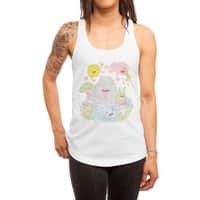 Roughin' It - womens-racerback-tank - small view