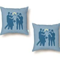 JC was a Streaker - throw-pillow - small view