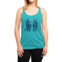 JC was a Streaker - womens-triblend-racerback-tank - small view
