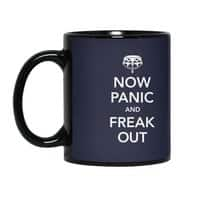 Now Panic and Freak Out - black-mug - small view