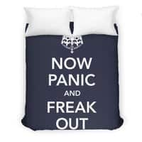 Now Panic and Freak Out - duvet-cover - small view