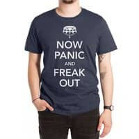 Now Panic and Freak Out - mens-extra-soft-tee - small view