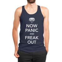 Now Panic and Freak Out - mens-jersey-tank - small view