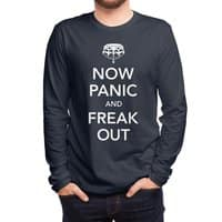Now Panic and Freak Out - mens-long-sleeve-tee - small view