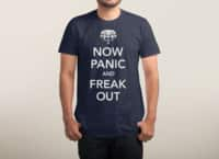 Now Panic and Freak Out - mens-triblend-tee - small view