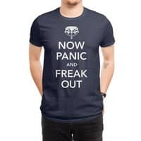 Now Panic and Freak Out - mens-regular-tee - small view