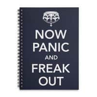 Now Panic and Freak Out - spiral-notebook - small view