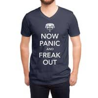 Now Panic and Freak Out - vneck - small view