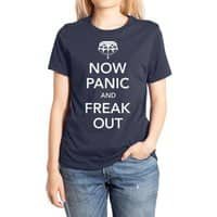 Now Panic and Freak Out - womens-extra-soft-tee - small view