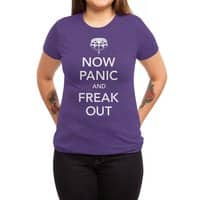 Now Panic and Freak Out - womens-triblend-tee - small view