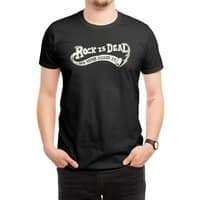 Rock Is Dead and Paper Killed It. - mens-regular-tee - small view