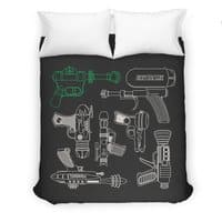 Rayguns - duvet-cover - small view