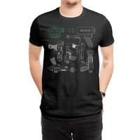 Rayguns - mens-regular-tee - small view