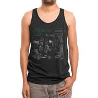 Rayguns - mens-triblend-tank - small view