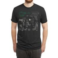 Rayguns - mens-triblend-tee - small view