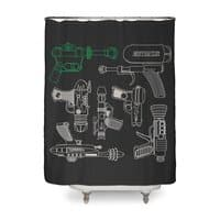 Rayguns - shower-curtain - small view