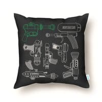 Rayguns - throw-pillow - small view