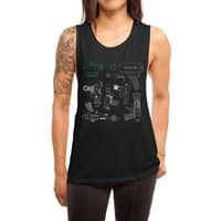 Rayguns - womens-muscle-tank - small view