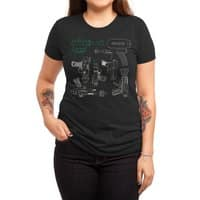 Rayguns - womens-triblend-tee - small view