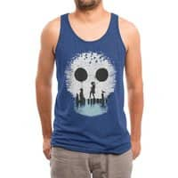 Bye Bye Apocalypse - mens-triblend-tank - small view